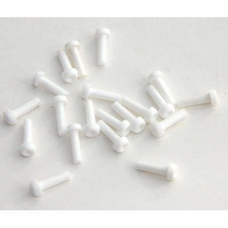 10 Mini pions clous à encastrer 11 x 2.5 mm