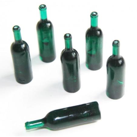 Pion mini bouteilles vertes
