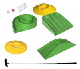 Kit minigolf Easy : 5 obstacles + 1 club + 2 balles