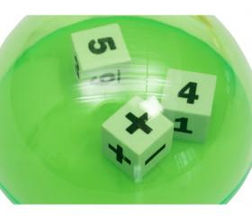 Dôme lanceur de dés opérations mathématiques