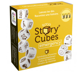 Story Cubes Emergency - 9 Dés spéciaux pour jeux