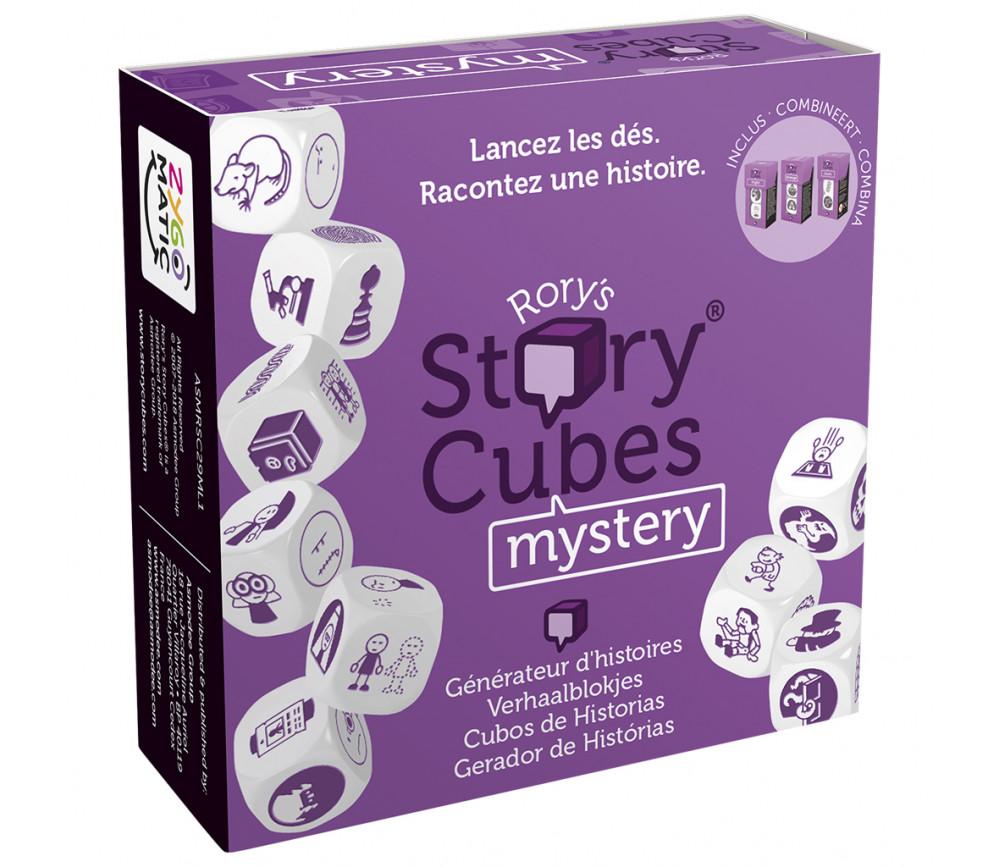 Story Cubes Mystery - 9 Dés spéciaux pour jeux