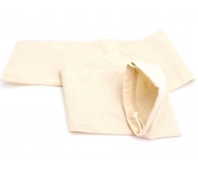 Sac tissu coton long ++ pour accessoire de jeux 80 x 12 cm