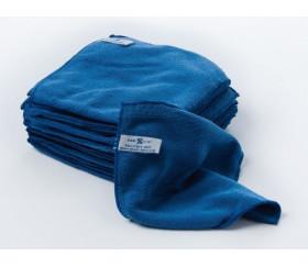 Chiffonnette microfibre bleue
