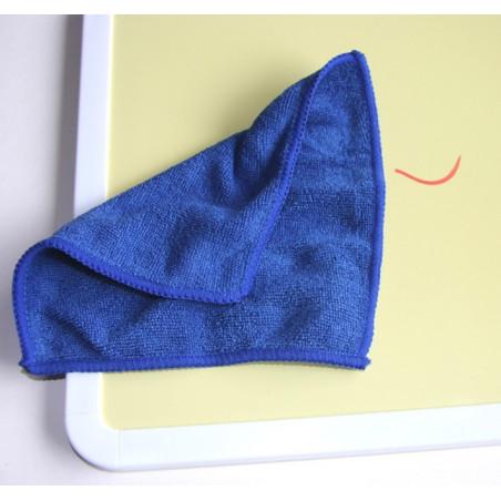 Chiffonnette microfibre pour nettoyer ardoise, tableau blanc