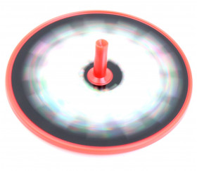 Toupie plastique effet optique 6 cm