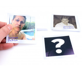 30 cartes Portraits Détective L.A crimes pour jeux