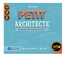 Jeu le petit architecte : transforme dessins en objets