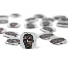 10 jetons Zombie Tokens 1.8 cm