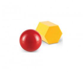 10 grandes formes géométriques 7.5 cm