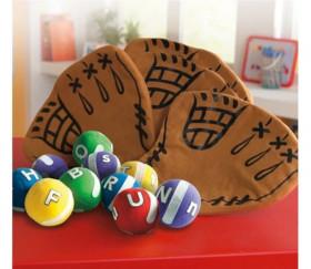 Attrape lettres - jeu fun avec balles sratch