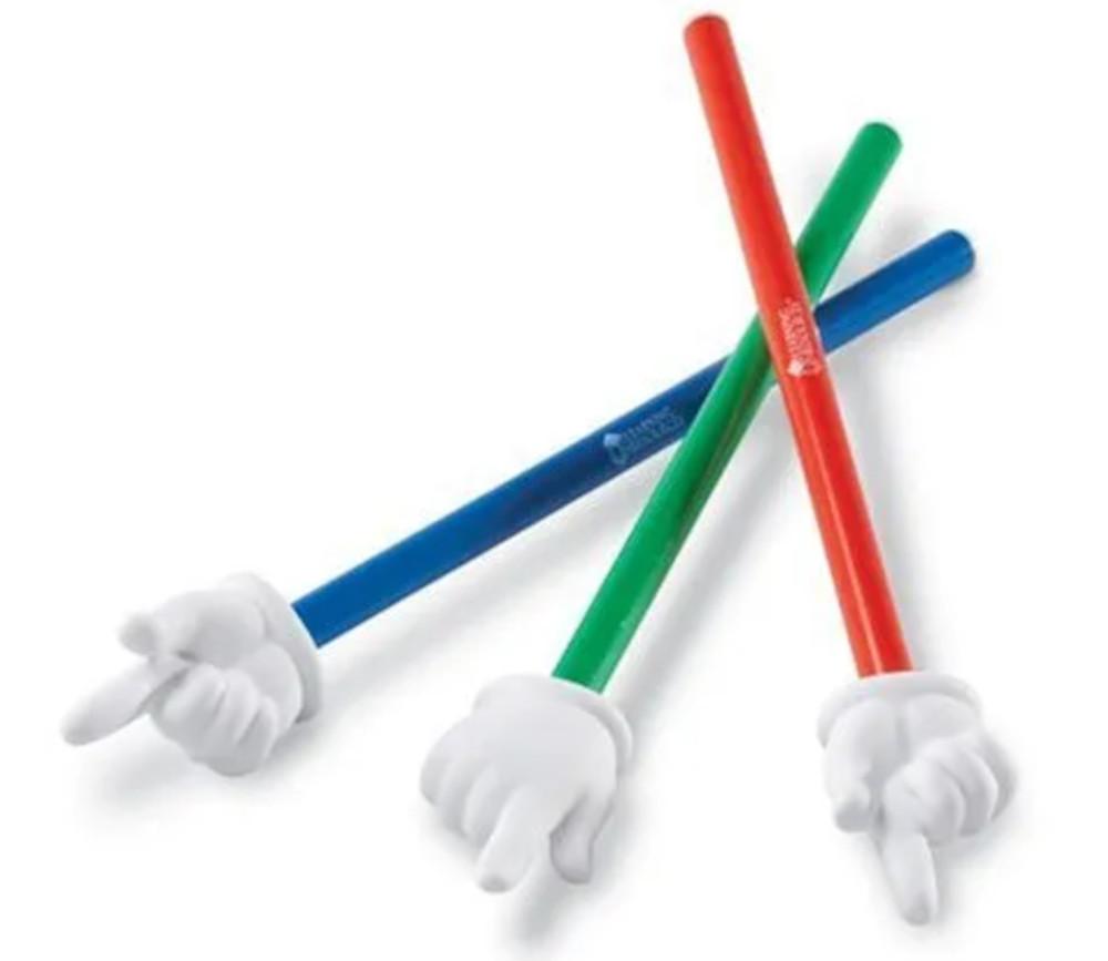 3 Pointeurs mains géantes 39 cm