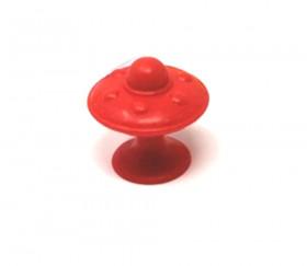6 pions soucoupes ventouse de 4.5 cm de haut - base de 3 cm