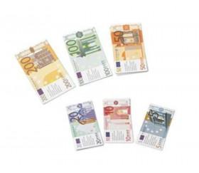 60 billets argent EUROS monnaie factice - jouet