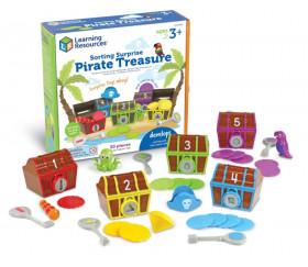 Coffret trésor surprise Pirate : tri et motricité mathématiques