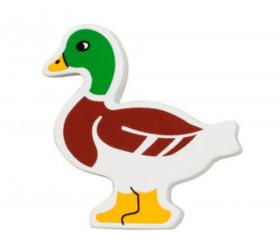 Canard en bois 49 x 52 x 15 mm