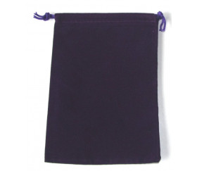 Sac suedine 125 x 175 mm modèle 2 violet