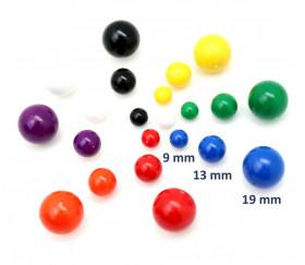 boules plastique coloré - billes pour jeux