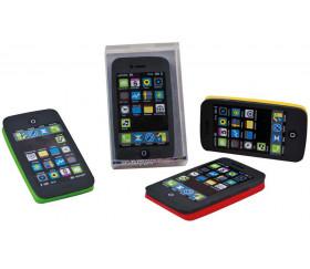 Mini smartphone - téléphone portable en gomme 6 x 3.3 cm