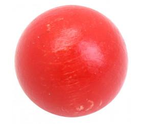 Boule 25 mm rouge bois hêtre
