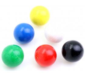 Boule 25 mm pour jeux de toutes les couleurs