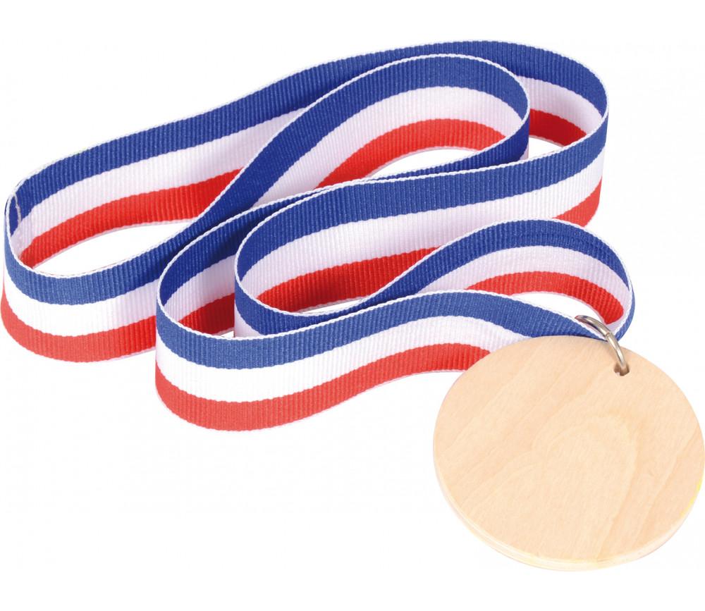 Médaille personnalisable en bois pour jeu ou cadeau