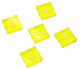 5 jetons énergie 1.5 cm pour jeu (compatible X-Wing)