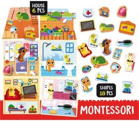 Puzzle animaux de compagnie Montessori PET HOUSE