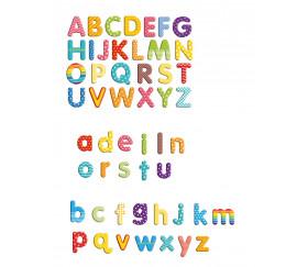 99 lettres magnétiques 4.5 cm de hauteur majuscule + minuscule alphabet
