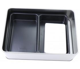 Boite métal A6 pour 2 jeux cartes à jouer et accessoires 142 x 103 x 45 mm