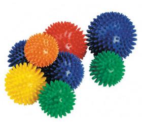 Balle sensorielle à picots hérisson 6 cm