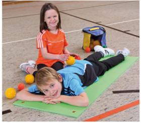 Balle sensorielle massage enfant