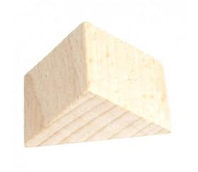 cubes en bois de 3 cm de c t lot de 20 h tre naturel. Black Bedroom Furniture Sets. Home Design Ideas