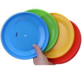 4 disques Frisbees de 18 cm