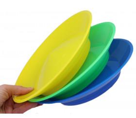 Assiette chinoise de jonglage avec bâton