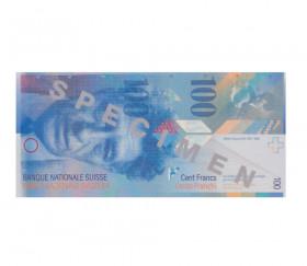 Set 55 billets Franc Suisse factices pour jeux argent très réalistes