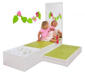Feuilles et fleurs - 6 types d'attache Montessori laçage