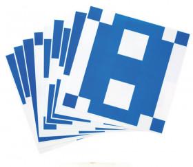 10 fiches pour jeu de 16 cubes bicolores sur plateau
