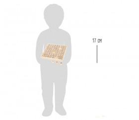 Multiplication - table de calcul bois naturel