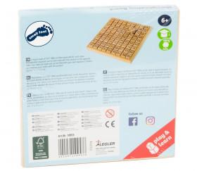 Multiplication - table de calcul bois naturel certifié FSC