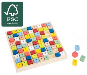 Sudoku en bois certifié FSC