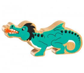 Dragon en bois 160 x 65 x 25 mm