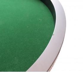 2ème choix : Piste dés bois noir 40 cm avec défaut sur le bord