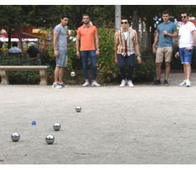 Fada : 2 dés cochonnets pour jeu de pétanque à perdre la boule
