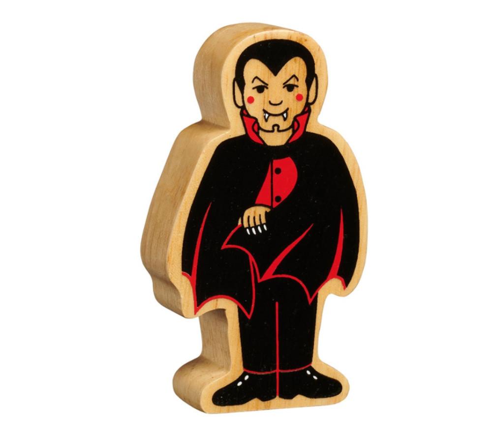 Vampire en bois 100 x 54 x 25 mm pion personnage