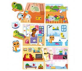 PET HOUSE Montessori de Lisciani