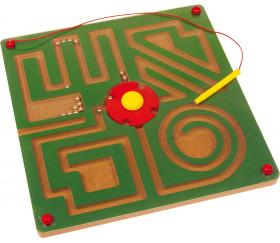 Labyrinthe magnétique 29 cm avec crayon aimant
