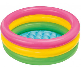 Mini Piscine gonflable Intex 61 x 22 cm 3 couleurs
