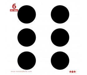 24 Cartes illustrées 11.5 x 11.5 cm pour dés à personnaliser et jeux