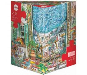 Puzzle 1000 pièces Artist's Mind série Comics. Heye